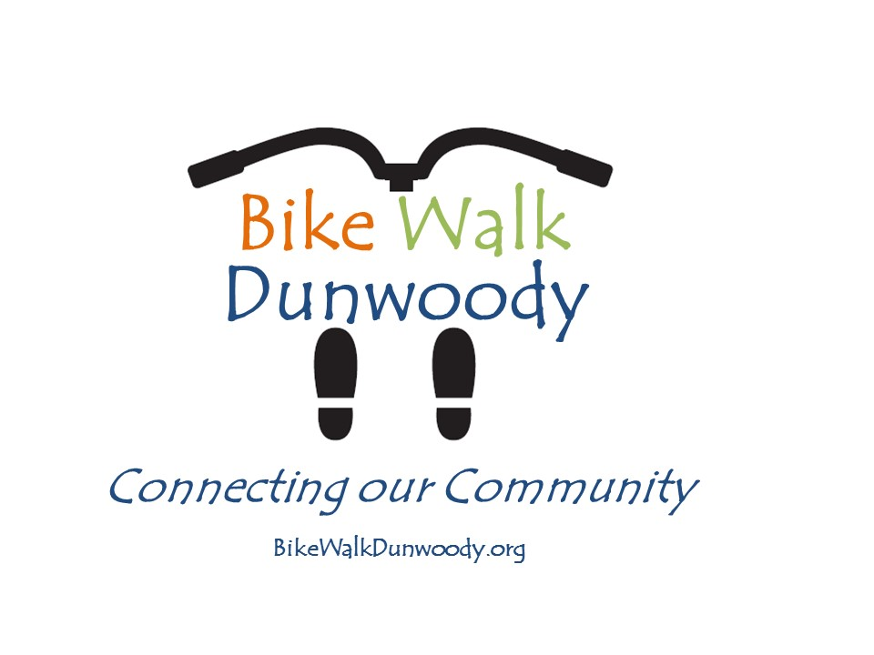 Bike-Walk Dunwoody Logo + Tag line
