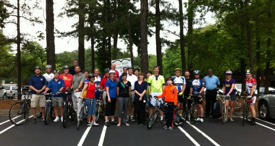 Dunwoody Bike to Lunch Day - 2013