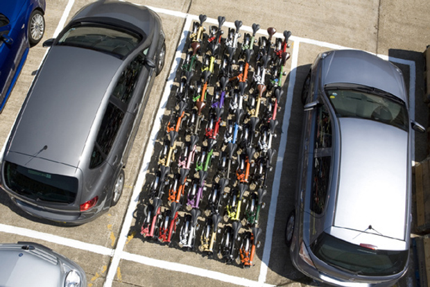 Car + bike parking